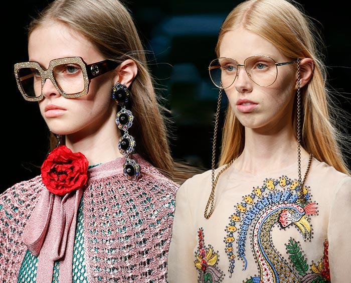 5eaa765dbdb0 Gucci Spring 2016 Accessories: Sunglasses