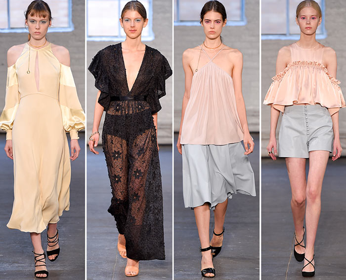 Jill Stuart Spring/Summer 2016 Collection