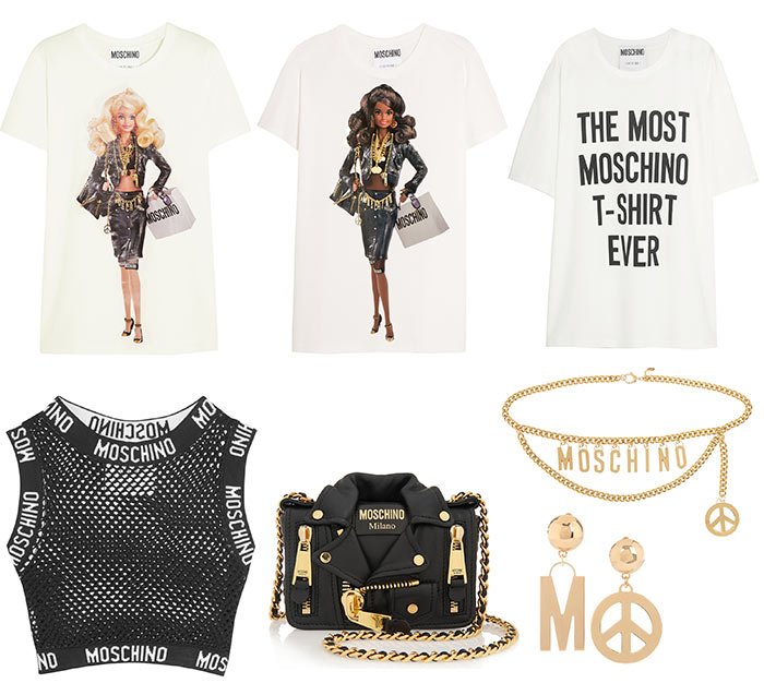 Moschino's New Barbie Doll and Capsule Collection