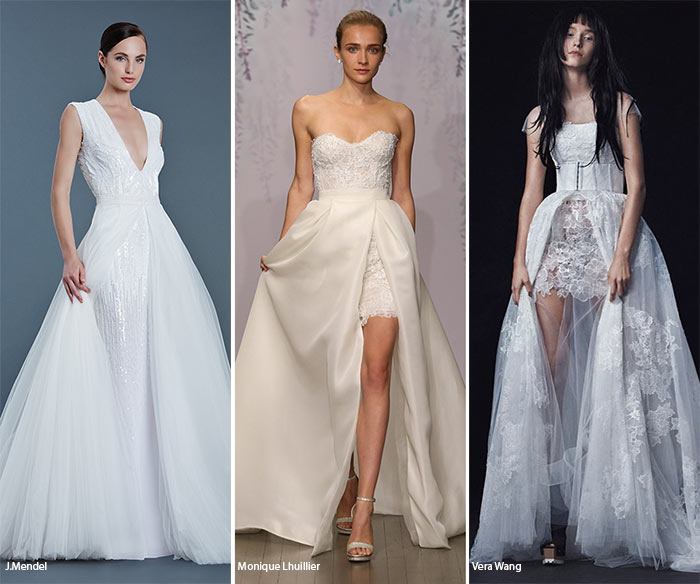 Fall 2016 Bridal Trends: Wedding Dresses with Detachable Skirts