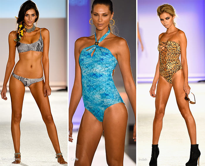 Spring/ Summer 2016 Swimwear Trends: Animal-Printed Swimsuits