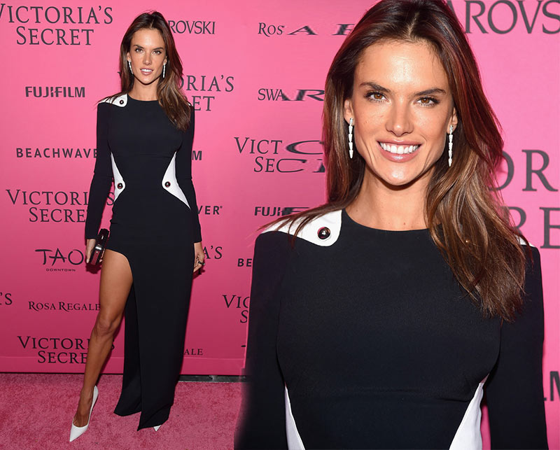 Victoria's Secret Fashion Show 2015 Pink Carpet: Alessandro Ambrosio