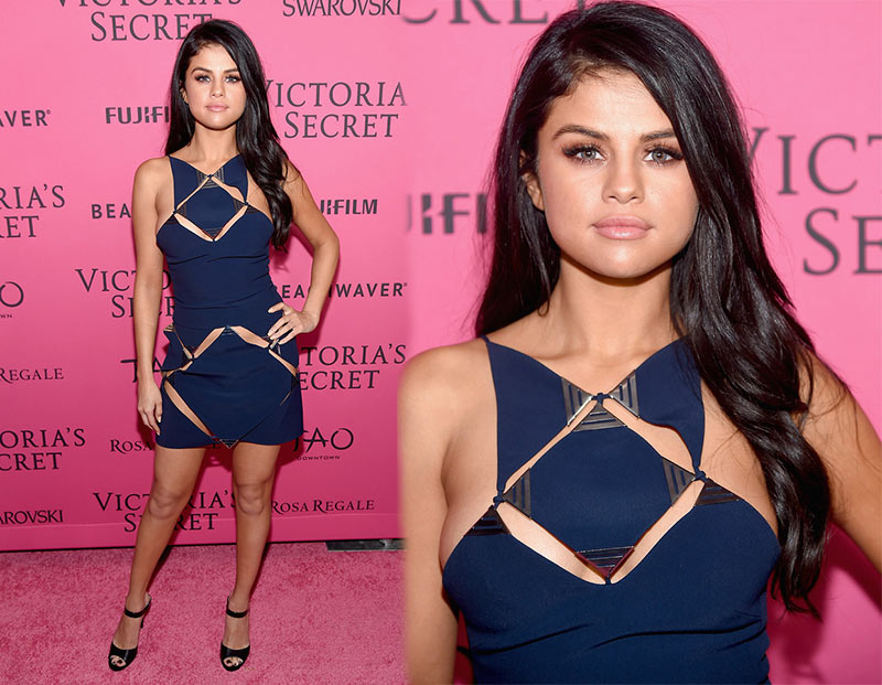 Victoria's Secret Fashion Show 2015 Pink Carpet: Selena Gomez