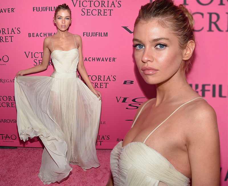 Victoria's Secret Fashion Show 2015 Pink Carpet: Stella Maxwell