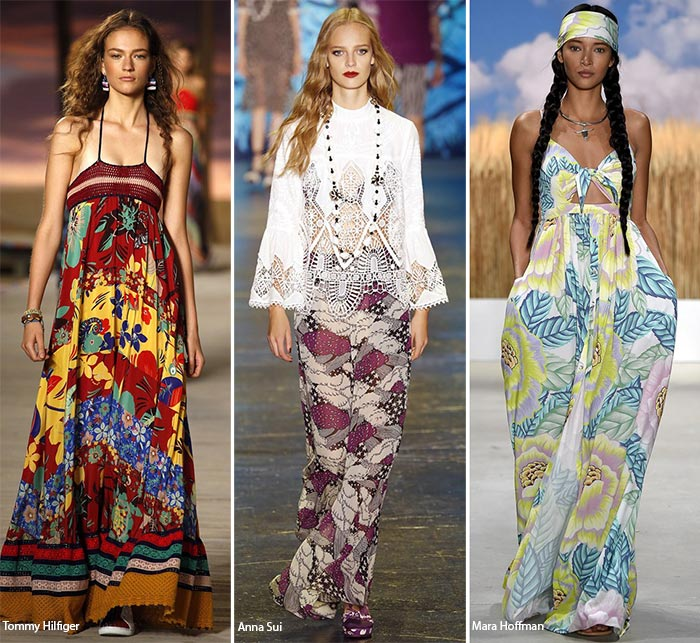 Spring/ Summer 2016 Fashion Trends: Gypset Bohemian Style