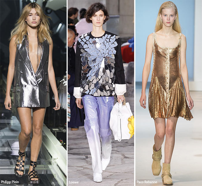 Spring/ Summer 2016 Fashion Trends: Metallic & Glittering Looks