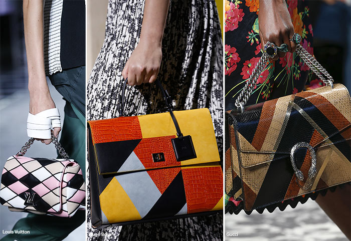 Spring/ Summer 2016 Handbag Trends: Graphic Bags