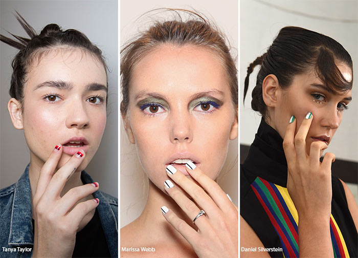 Spring/ Summer 2016 Nail Trends: Striped Nail Art