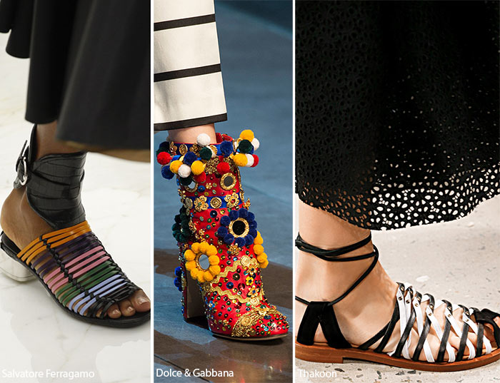 Spring/ Summer 2016 Shoe Trends: Shoes with Mexican Motifs
