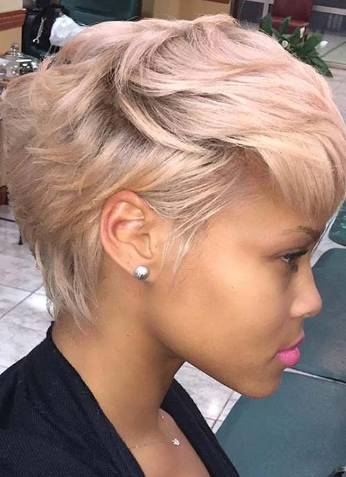 Short Hairstyles for Women: Boycut Pixie