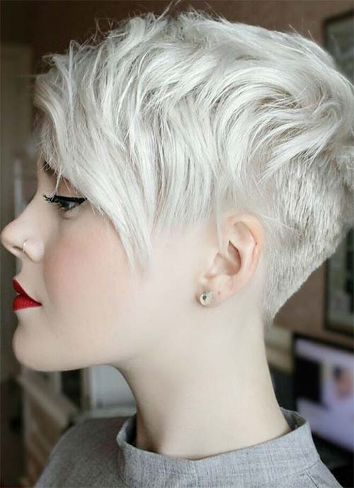 Short Hairstyles for Women: Granny Pixie