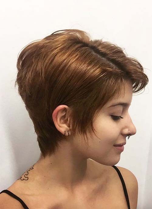 Short Hairstyles for Women: Grown-Out Pixie