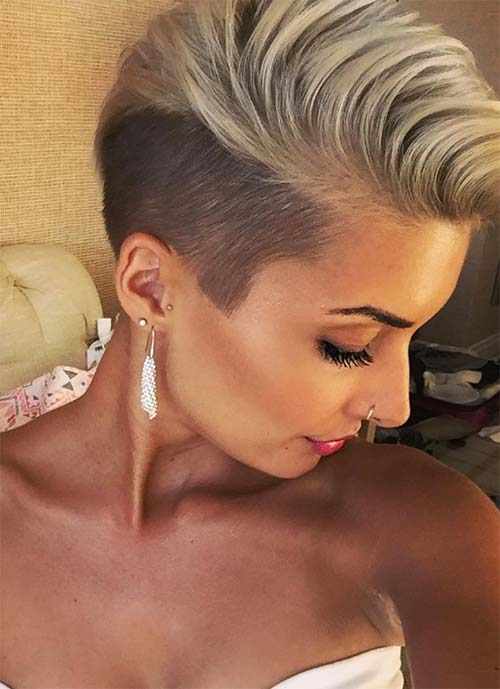 Short Hairstyles for Women: Undercut Pixie