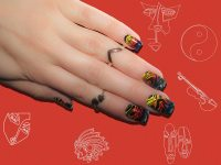 15 Abstract Artistic Nail Art Designs That Will Blow Your ...