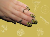 15 Abstract Artistic Nail Art Designs That Will Blow Your
