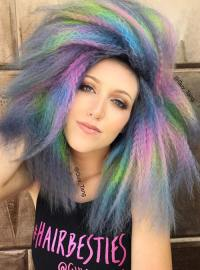 50 Bold Pastel and Neon Hair Colors in Balayage and Ombre ...