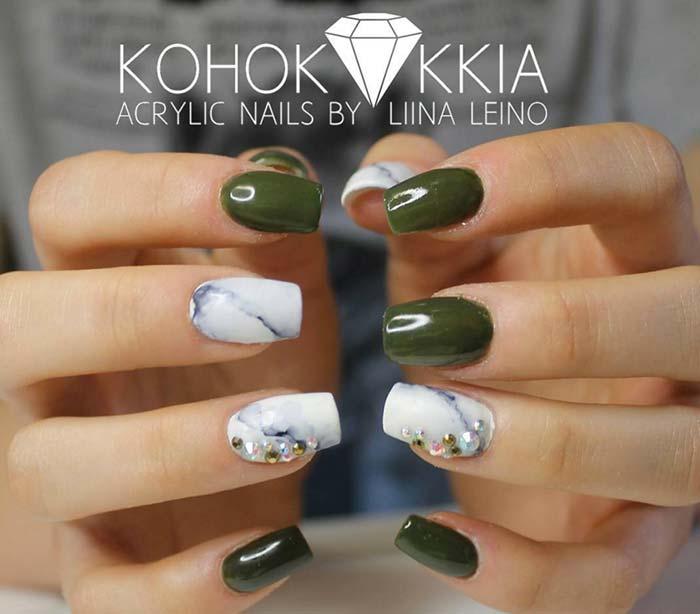 80 Stylish Acrylic Nail Design Ideas Perfect for 2016