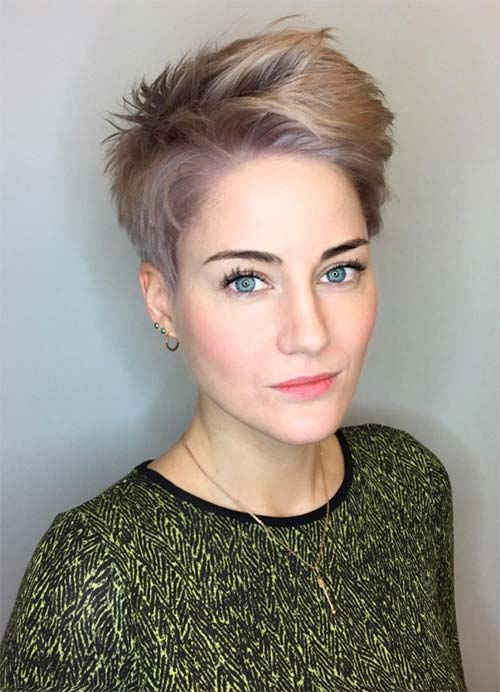 Short Haircut Styles Thin Hair With The Ability To Blow Dry Into Shape Quickly Curl Or Straighten Layers Should Be Cut Bluntly And Not