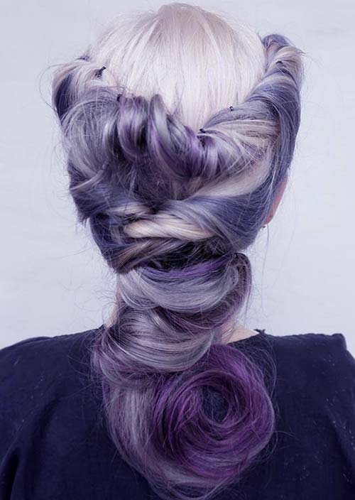 100 Trendy Long Hairstyles for Women: Twisted Braids