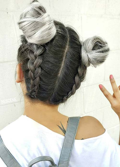 How to Dye Your Hair Silver/ Gray