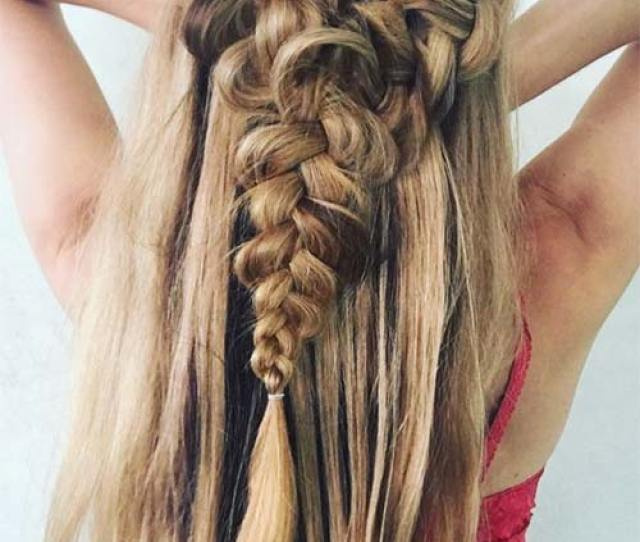 Ridiculously Awesome Braided Hairstyles Half Up French Braids