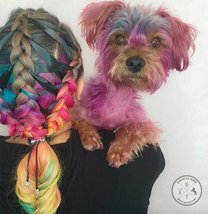 100 Ridiculously Awesome Braided Hairstyles: Ribbon-Tied Braids