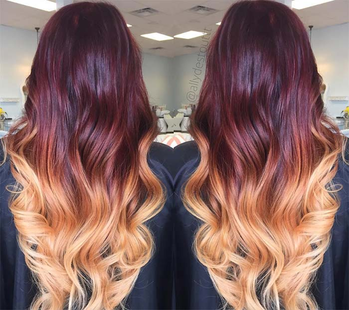 Dark Hair Colors: Deep Mahogany Hair Colors
