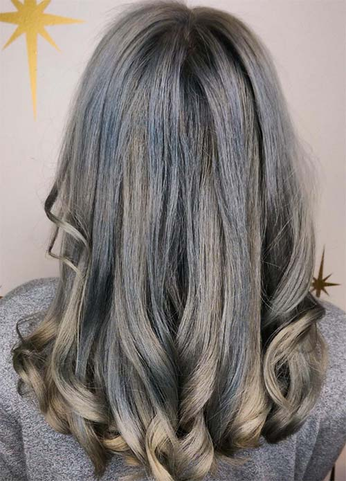 Blue Denim Hair Colors: 50 Shades of Denim Hair