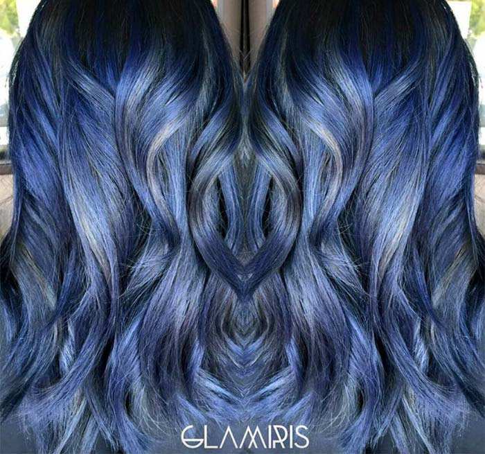 How to Choose the Right Shade of Denim Blue Hair Color