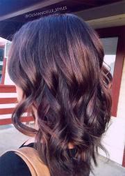pretty chocolate mauve hair
