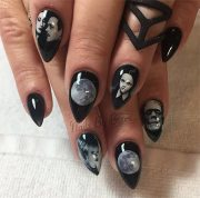 awe-inspiring halloween nail