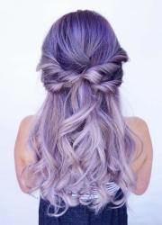lovely purple & lavender hair
