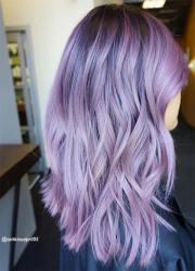 lovely purple & lavender hair