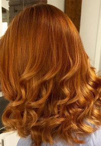 Copper Color On Natural Hair Hair Color Pinterest Of