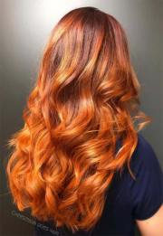 copper hair color shades