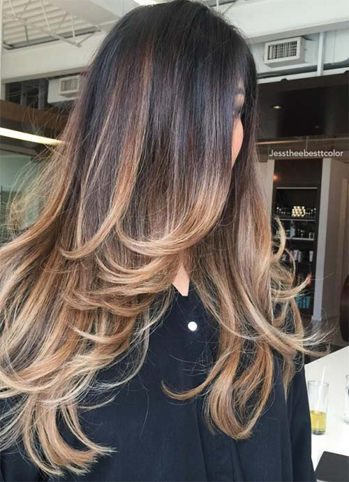 Layered Haircuts & Hairstyles for Long Hair