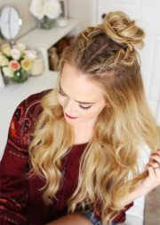 pretty holiday hairstyles