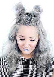 gorgeous glitter hairstyles