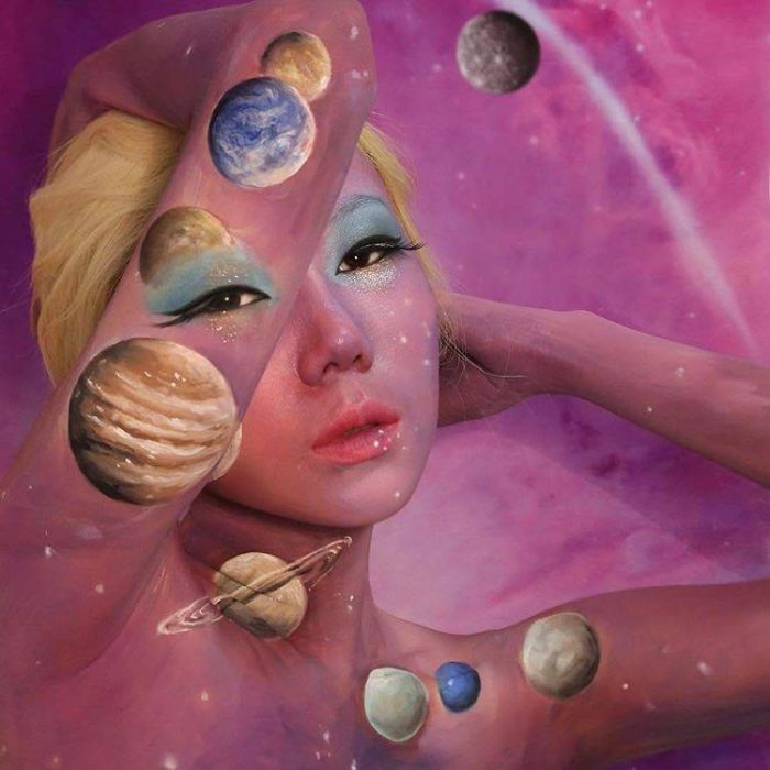 The Illusion Artist Dain Yoon Creates Mind-Blowing Looks planets