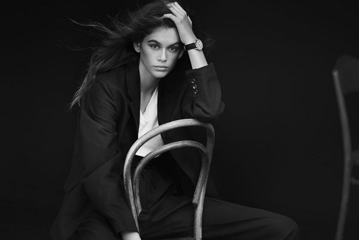 Incredible! Kaia Gerber Fronts Omega's New Campaign