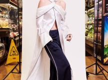 Monse Pre Fall 2018 Collection flared trousers and long shirt top