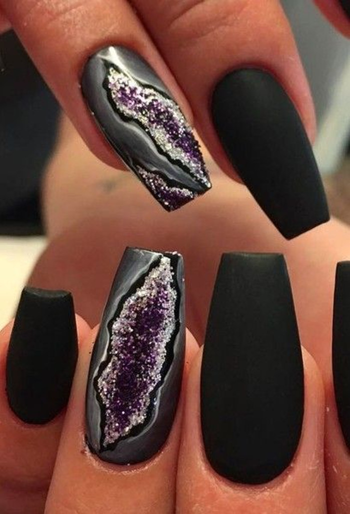 Must Try Gorgeous Nail Designs ametist nails