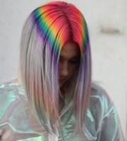 prism roots colorful dye job