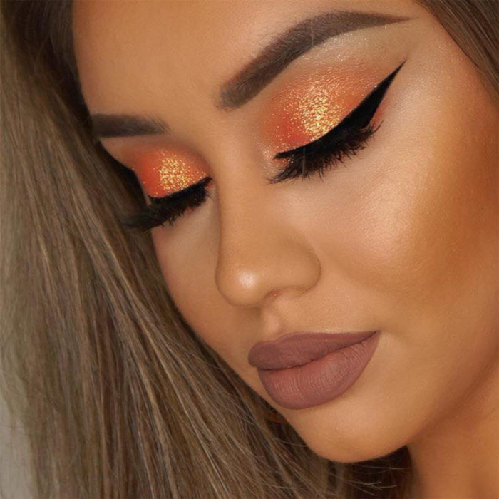 Bring The Sunset on Your Eyelids This Summer sunset makeup