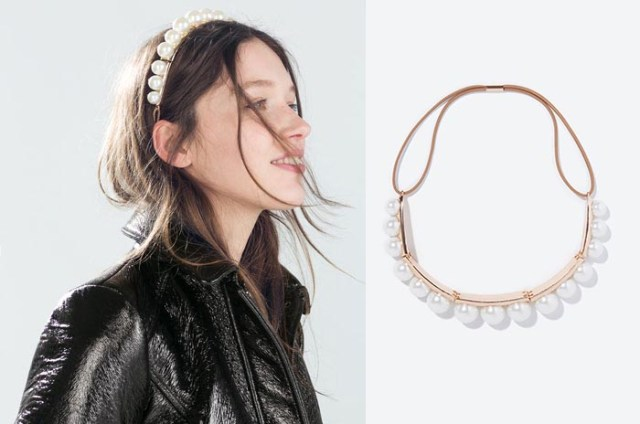 Budget shoppen: Chanel's grote parel. Alles over budget shoppen: de grote parel sieraden van Chanel: ketting, oorbellen en ringen. Bekijk de sieraden.