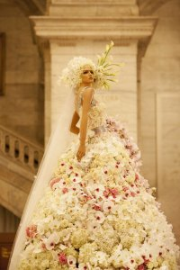Dresses Made Up of Real Flowers You Didn't Know