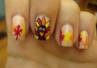 Thanksgiving Nail Art Ideas for Beginners