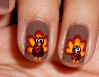 Thanksgiving Nail Art Ideas for Beginners