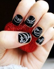nail art design short nails