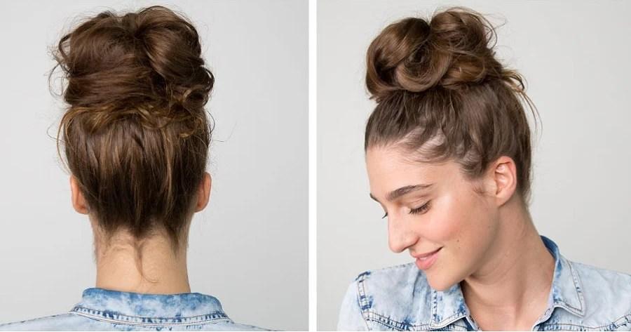 Messy Instant Rose Bun (Hair Bun Scrunchie) - easeable.com